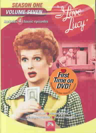 I LOVE LUCY:SEASON ONE VOL 7 BY I LOVE LUCY (DVD)